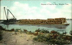 Shipment of Logs by River