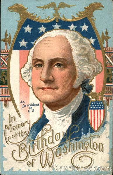 In Memory of the Birthday of Washington Presidents