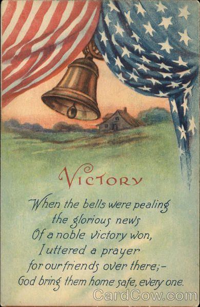 Victory, When the Bells Were Pealing the Glorious News of a noble Victory Won