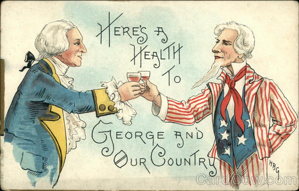 Here's a Health to George and Our Country Patriotic