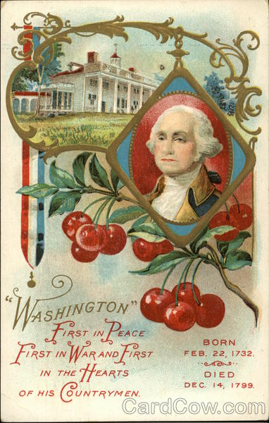 Washington First in Peace, First in War and First in the Hearts of his Countrymen