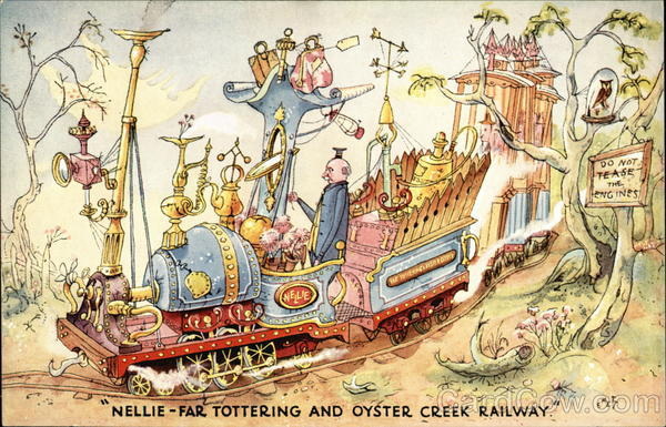 Nellie-Far Tottering And Oyster Creek Railway Amusement Parks