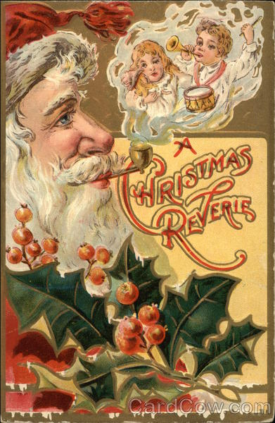 A Christmas Reverie Santa Claus