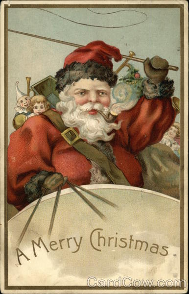 A Merry Christmas - Santa Claus
