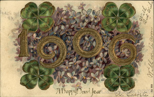 1906, A Happy New Year Year Dates