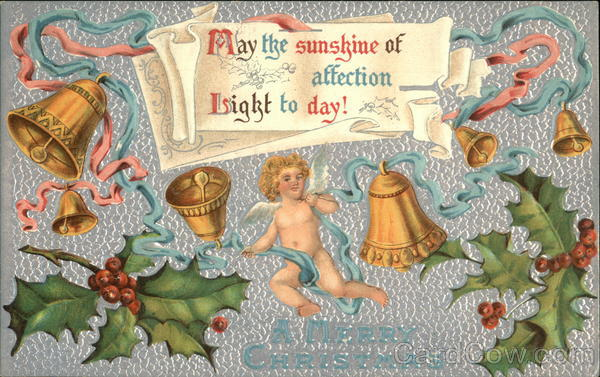 A Merry Christmas, May the Sunshine of Affection Light to Day!