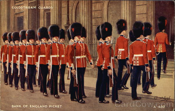 Coldstream Guards, Bank of England Picket National Guard