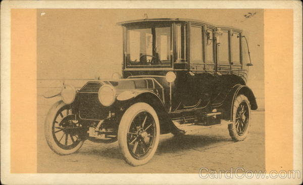 1912 Peerless, famous well developed American car Cars