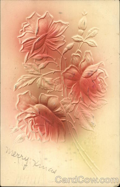 Pink Roses Airbrushed