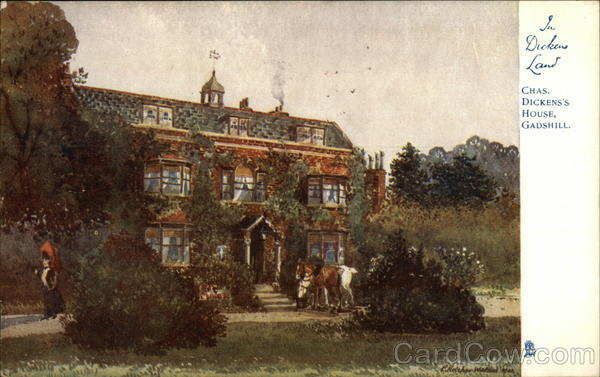 Chas. Dickens's House, Gadshill Art