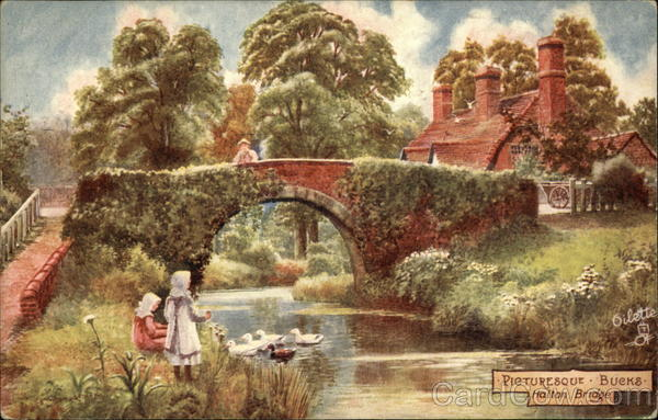 Picturesque Bucks Halton Bridge UK