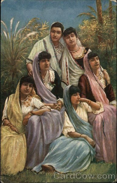 A Group of Parsi Ladies India