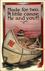 Made for Two, A Little Canoe; Me and You!!