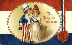 The Day We Celebrate! - July 4th - Patriotic Children