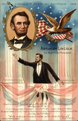 "Abraham Lincoln ""They Martyred President"" Postcard"