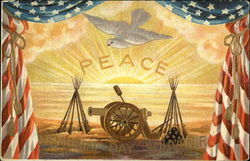 Peace With Dove and Canon, Memorial Day Souvenir