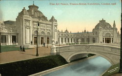 Fine Art Palace, Franco-British Exhibition, London, 1908