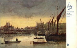 Rochester From Strood Pier - In Dickens Land