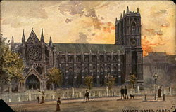 Painting of Westminster Abbey