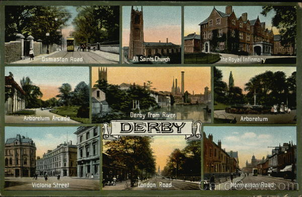 Greetings from Derby England