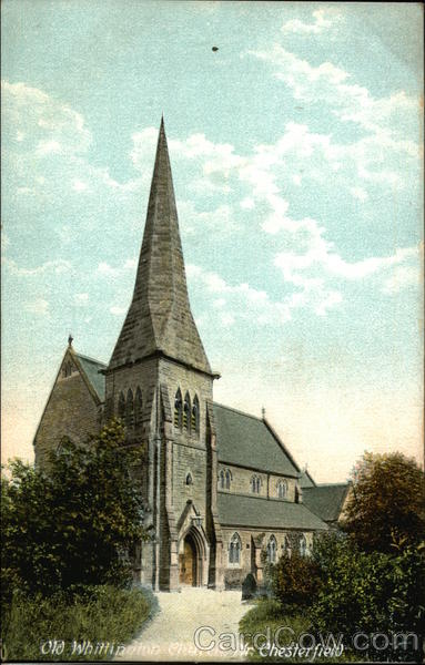 Old Whittington Church Chesterfield England