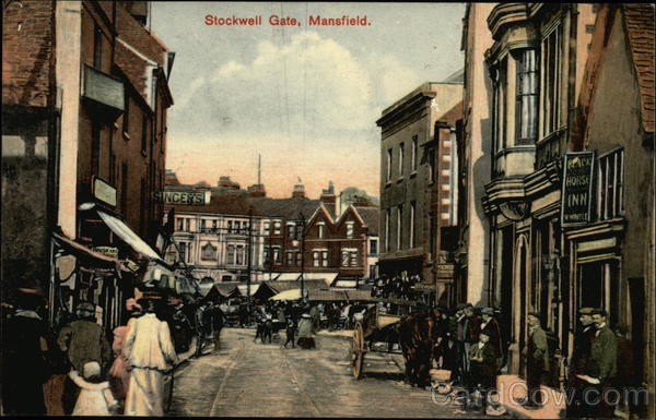 Stockwell Gate Mansfield England