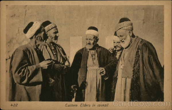 422 - Eastern Elders in counsil Arab