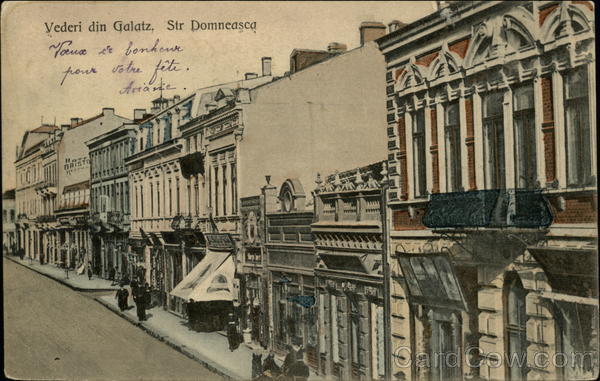 Str. Domneasca Galati Romania Eastern Europe