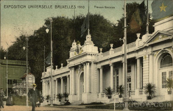Exposition of 1910 - Travaux Feminins Brussels Belgium