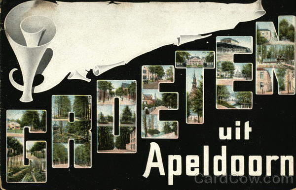 Greetings from Apeldoorn Netherlands Benelux Countries