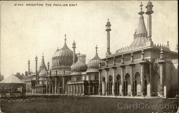 The Pavilion East Brighton England Sussex