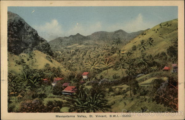 Mesopotamia Valley, St. Vincent, B.W.I. - 25323 Saint Vincent and the Grenadines