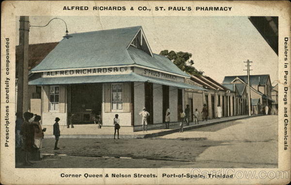 Alfred Richards & Co., St. Paul's Pharmacy Port-of-Spain Trinidad