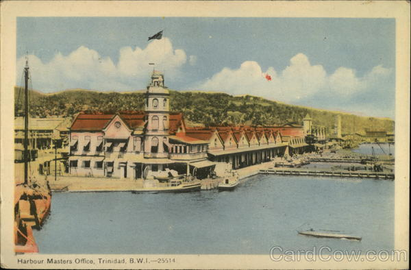 Harbour Masters Office, Trinidad, B.W.I. - 25514 Trinidad and Tobago