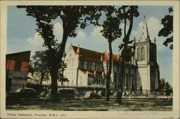 Trinity Cathedral Port of Spain Trinidad Caribbean Islands