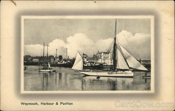 Harbour & Pavilion Weymouth England Dorset