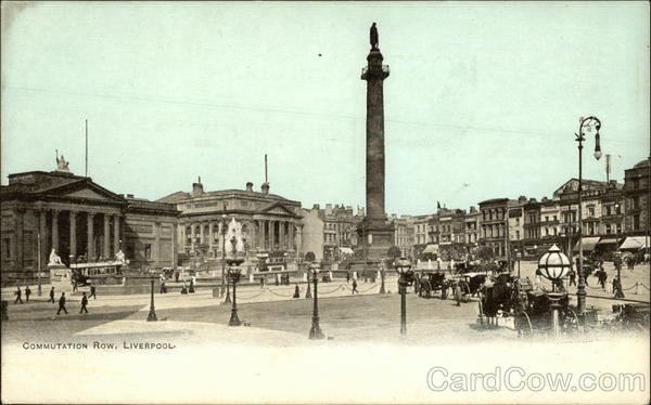 Commutation Row Liverpool England Merseyside