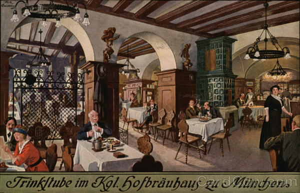 Kgl. Hofbrauhaus Munich Germany