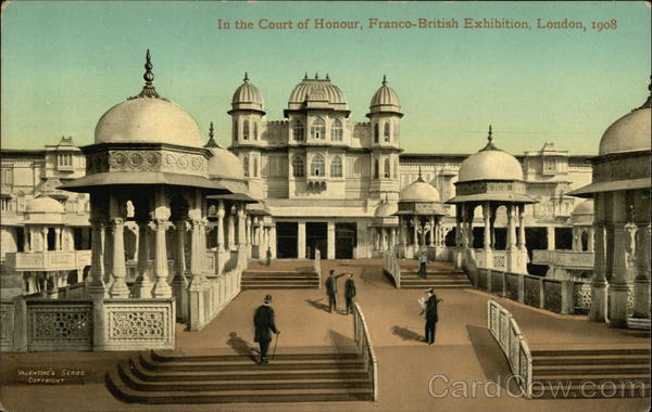 The Court of Honour, Franco-British Exhibition, London 1908