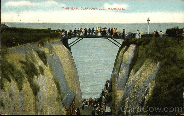 The Gap, Cliftonville Margate England Kent