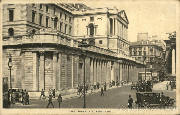 The Bank of England London