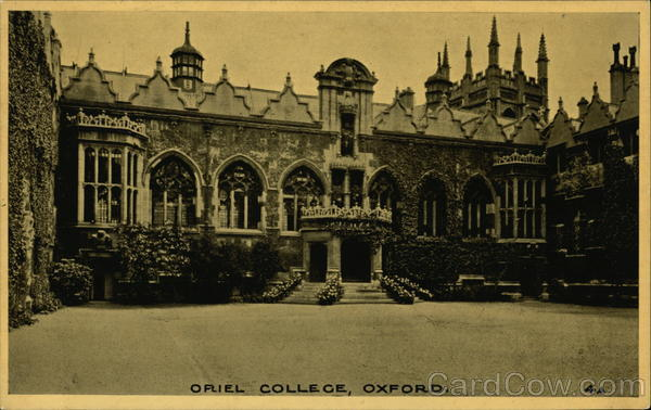 Oriel College Oxford England Oxfordshire
