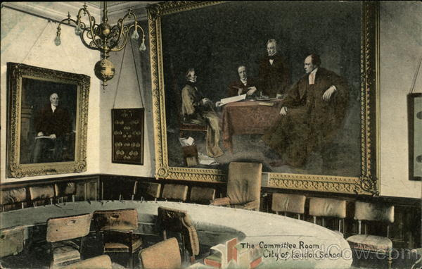 City of London School - The Committee Room England