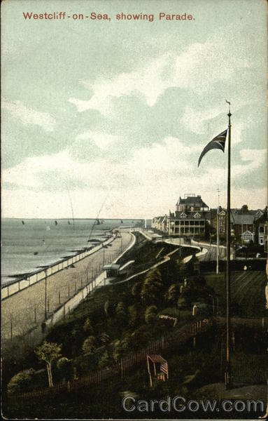Beach and Parade Westcliff-on-Sea England