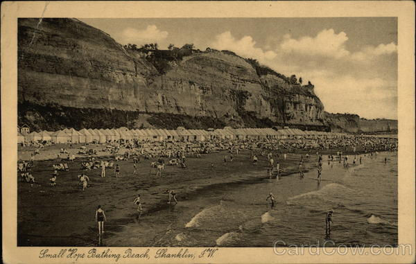 Small Hope Bathing Beach Shanklin England