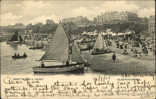 West Beach & Yachts Clacton-on-Sea England