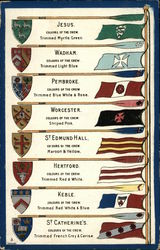 Flags and Coats-of-Arms for Oxford Colleges