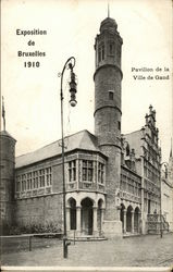 Exposition of 1910 - Pavillon de la Ville de Gand
