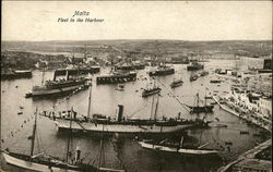 Malta - Fleet in the Harbour