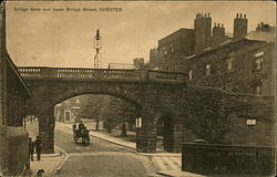 Bridge Gate and Lower Bridge Street Postcard